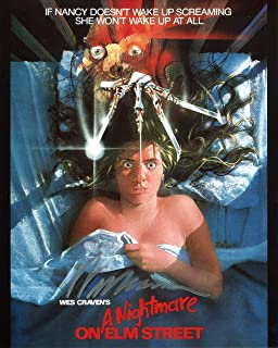 Wes Craven Signed/Autographed A Nightmare On Elm Street Movie Poster 8x10 Glossy Photo. Includes FANEXPO Certificate of Authenticity and Proof. Entertainment Autograph Original.