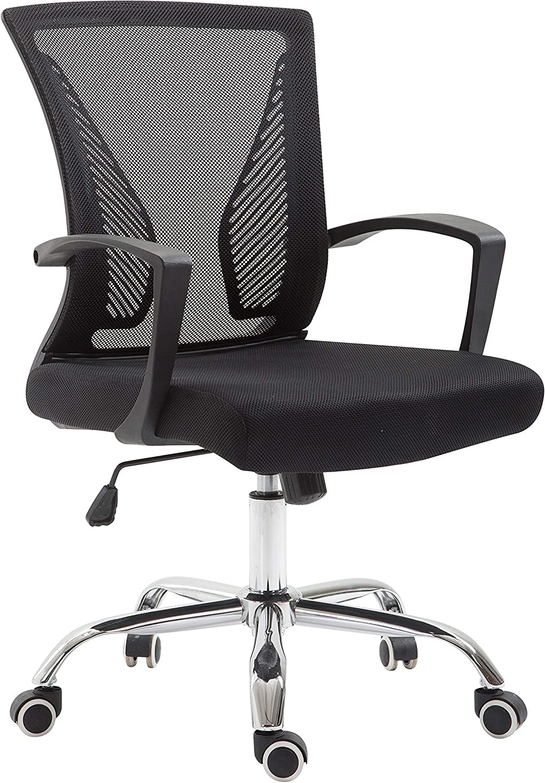 Washington Mall Super-cheap EdgeMod Chartwell Office in Chair Black