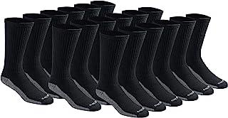 Men's Dri-tech Moisture Control Crew Socks Multipack
