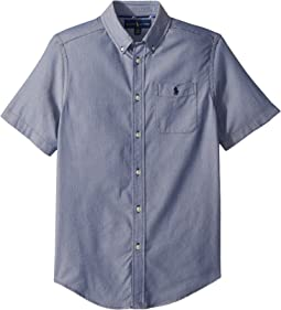 Polo Ralph Lauren Kids - Performance Oxford Shirt (Big Kids)
