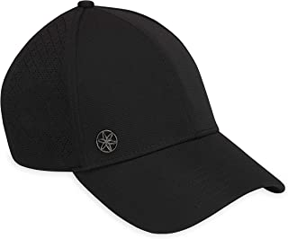 Gaiam Women's Hat-Breathable Ball Cap, Pre-Shaped Bill, Adjustable Size for Running