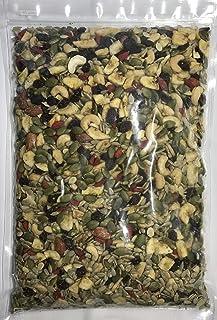 ナッツ&フルーツ 徳用チャック袋 1KG 一榮食品 8種類(ひまわりの種 レーズン かぼちゃの種 バナナチップ カシューナッツ アーモンド クコの実 すいかの種)