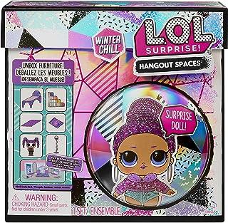 LOL Surprise Winter Chill Hangout Spaces Meubles - Bling Queen - avec + de 10 Surprises Dont 1 poupée, Accessoires & Meubl...