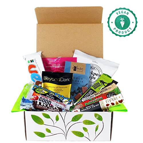 Vegan Chocolate And Snack Treat Hamper Gift Box