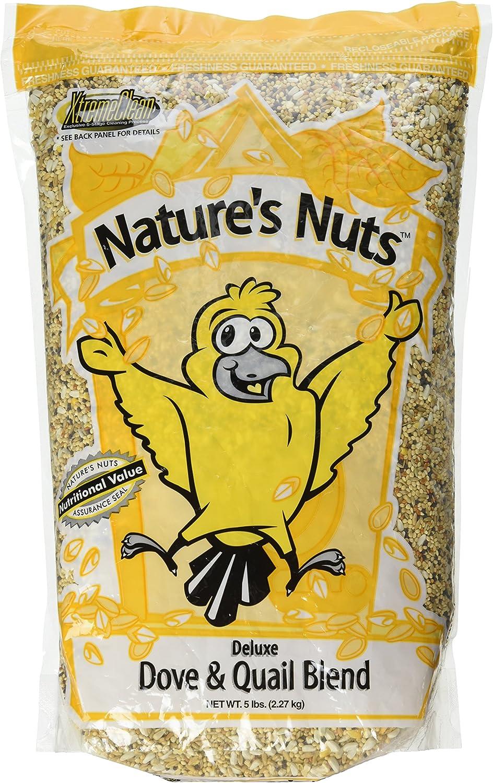 Autumn Food Chuckanut Natures Nuts Deluxe Dove Quail Blend Economical Mix 5lb