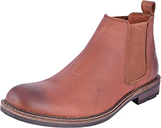 Saddle & Barnes Men's Leather Chelsea Boots