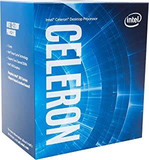 Intel Celeron G4900 Desktop Processor 2 Core 3.1GHz LGA1151 300 Series 54W BX80684G4900