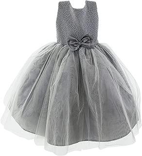 SODI Alta Costura Vestido de Ceremonia para niña Diamonds Color Plata
