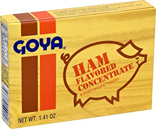 Goya Ham Flavored Concentrated Seasoning 1.41oz | Sabor a Jamon (Pack of 01)