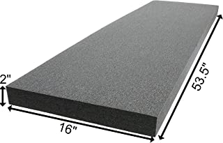 Case Club Customizable Polyethylene/Polyurethane/Convolute Foam 53.5 x 16 Inches