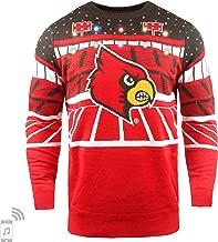 FOCO NCAA Mens Light Up Bluetooth Speaker Sweater