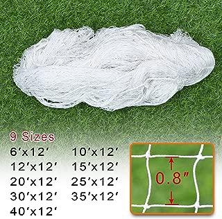 BenefitUSA Sports Nets Replacement Nylon Barrier Net, Multi-Sport Use, Golf Net, Lacrosse, Street Hockey Netting