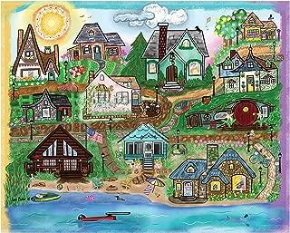 Heritage Puzzle Beach Life - 1000 Piece Jigsaw Puzzle