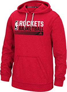 NBA Houston Rockets Icon Status Climawarm Ultimate Hoodie, X-Large, Red