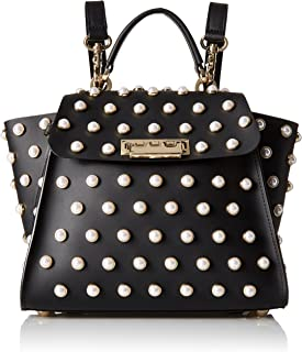 ZAC Zac Posen womens ZP1962 Eartha Iconic Convertible Backpack - Pearl Lady black Size: One Size