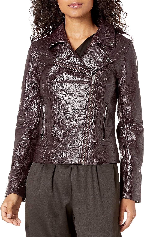 BB DAKOTA Women's Lucky Lizard online shop Embossed Max 89% OFF Leather Jack Snake Vegan