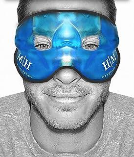 2021 Improved Design- Gel Eye Mask -HM Hangover Mask -Reusable Cooling Eye Mask for Hot..