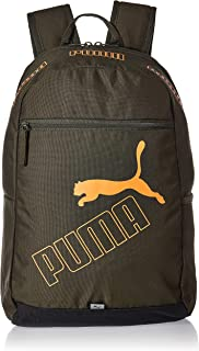 PUMA Mens Phase Ii Backpack, Black (Forest Night) - 07729506