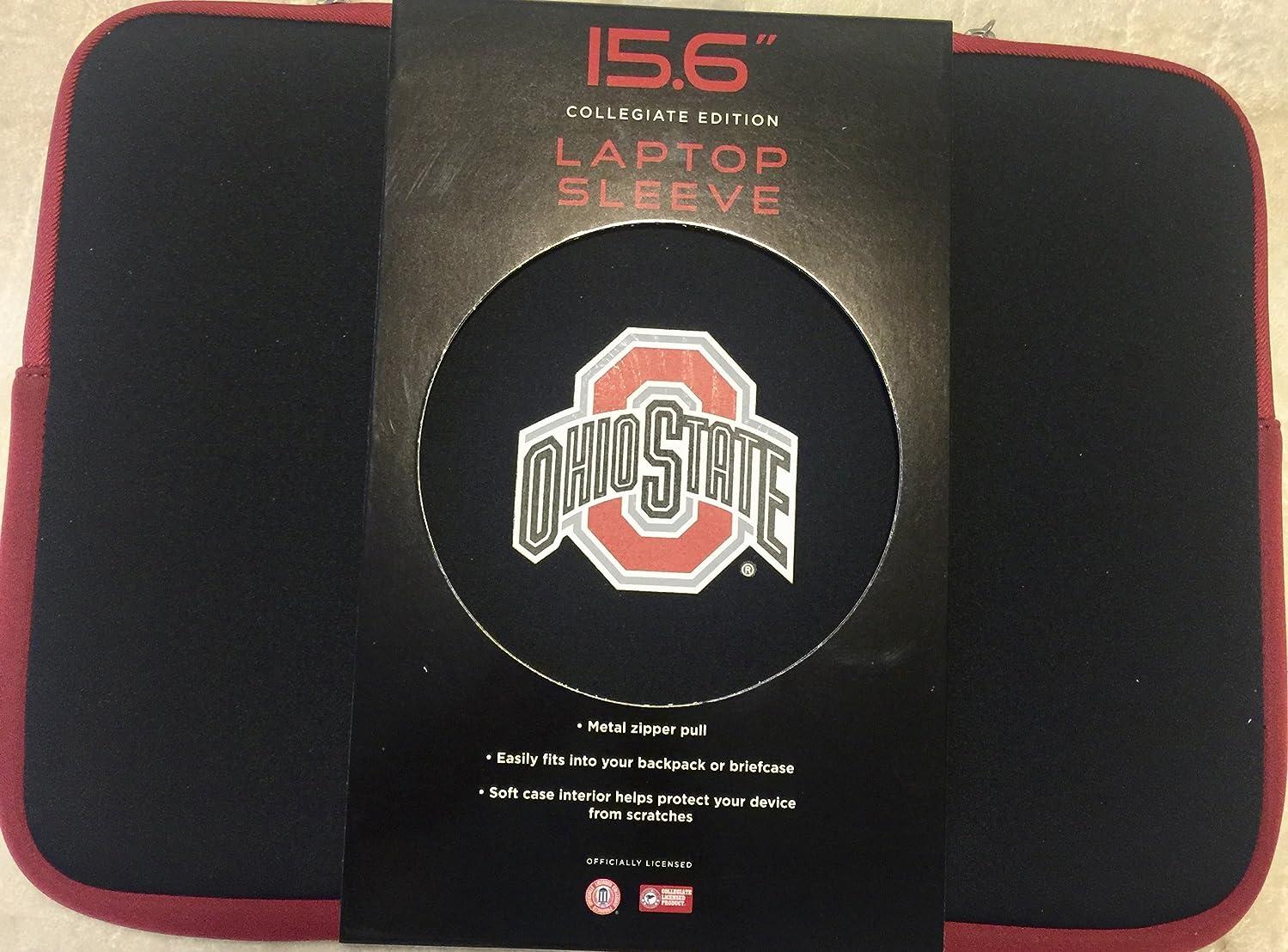 Ohio State Buckeyes 15.6 Laptop Sleeve Neoprene Soft Case