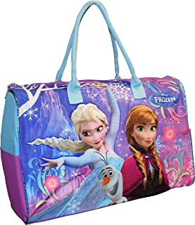 Disney Frozen Elsa Anna & Olaf Carry-On Duffle Bag/Gym/Tote Bag For Travel