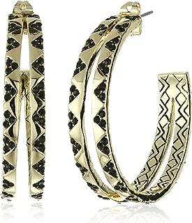 House of Harlow 1960 Outland Split Hoop Earrings
