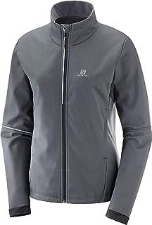 Salomon Pulse Softshell Jacke Damen grau kaufen im Sport