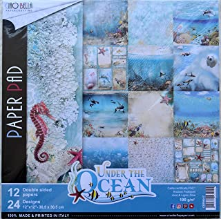 CIAO BELLA PAPER PAPR PCK, us:one size, Under the Ocean, 12 Designs/1 Each