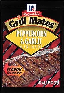 McCormick Grill Mates Peppercorn & Garlic Marinade Mix, 1.13 oz (Pack of 12)