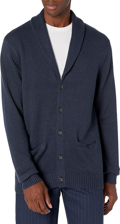 Amazon Brand - Goodthreads Men's Soft Cotton Shawl Cardigan