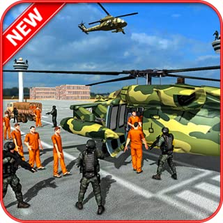Army Criminals Transport – Police Plane Simulator