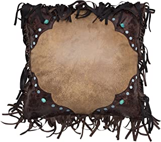 Carstens, Inc Western Turquoise Bead Pillow