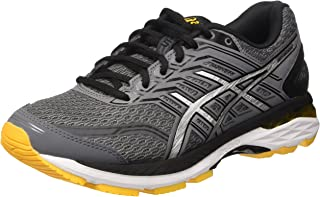 Men's Gt-2000 5 Running Shoe (8.5, Carbon/Black/Gold Fusion)