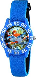 Disney Kids' W001962 Planes Analog Display Analog Quartz Blue Watch