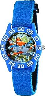 Disney Kids' W001962 Planes Analog Display Analog Quartz Blue Watch