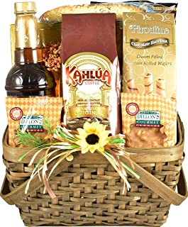 Gift Basket Village Sips and Sweets, Gift Basket with Coffee, gourmet coffee