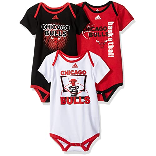 Chicago Bulls Baby Bodysuit Bib Set Basketball Todler Infant Romper NBA Jersey