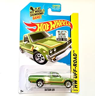 Hot Wheels 2015 HW Off-Road Datsun 620 125/250, Green