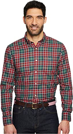 Vineyard Vines - Bold Point Slim Performance Flannel Tucker Shirt