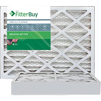 16 x 24 x 4 2 Piece 3-5//8 Actual Depth Nordic Pure 16x24x4 MERV 12 Pleated Plus Carbon AC Furnace Air Filters