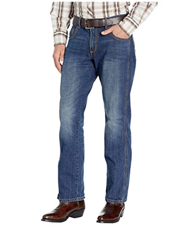 Wrangler Retro Slim Straight Jeans (Cottonwood) Men