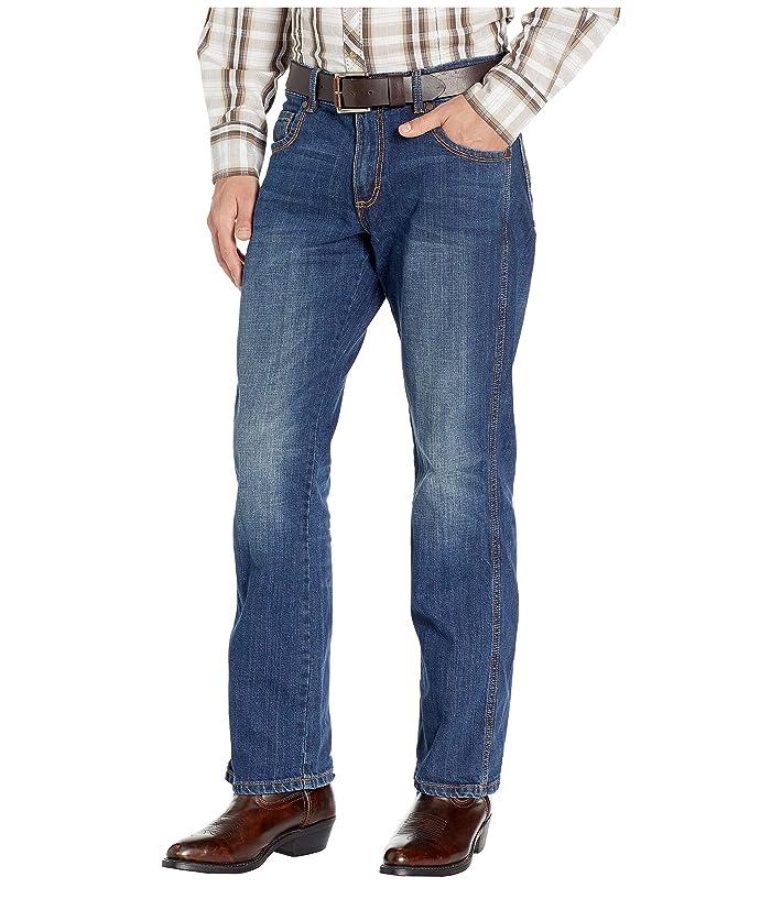 Wrangler  Retro Slim Straight Jeans (Cottonwood) Mens Jeans
