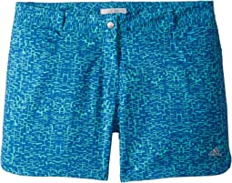 adidas Golf Kids - Print Shorts (Big Kids)