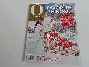 The Oprah Magazine (December, 2017) Oprah's Favorite Things