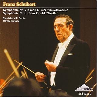 シューベルト:交響曲第7番「未完成」、交響曲第8番「ザ・グレート」 オトマール・スウィトナー指揮シュターツカペレ・ベルリン(ベルリン国立歌劇場管)
