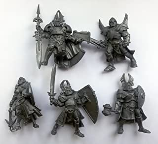 Fantasy Battles Paladins 54 mm 1/32 - 5 Fantasy Figures Tehnolog Russian Toy Soldiers