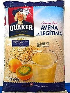 Quaker- Hojuelas de avena 100% natural 500g by Kaptalanshop