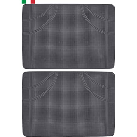 Nero Tappetini in Gomma Basic Plus Walser 14833
