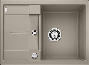 BLANCO METRA 45 S Compact - rechthoekige granieten gootsteen van Silgraniet voor de keuken - voor 45 cm brede onderkasten...