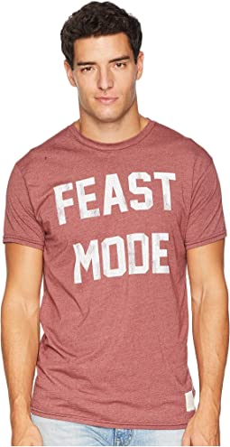 Feast Mode Vintage Heathered Short Sleeve Tee