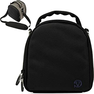 VanGoddy Laurel Steel Gray Carrying Case Bag for Leica SL-System, M-System, Q, APS-C System, X, Compact